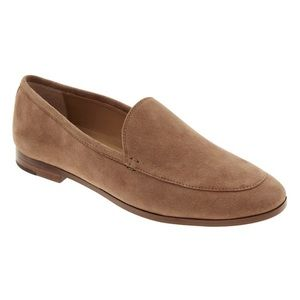 Banana Republic Genuine Leather Suede Demi Loafer